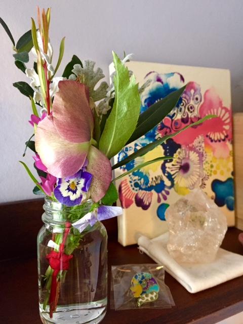 愛の土に咲く花達